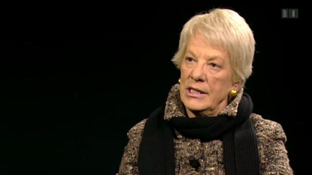 Video «Dramatischer Appell von Carla del Ponte zu Syrien» abspielen