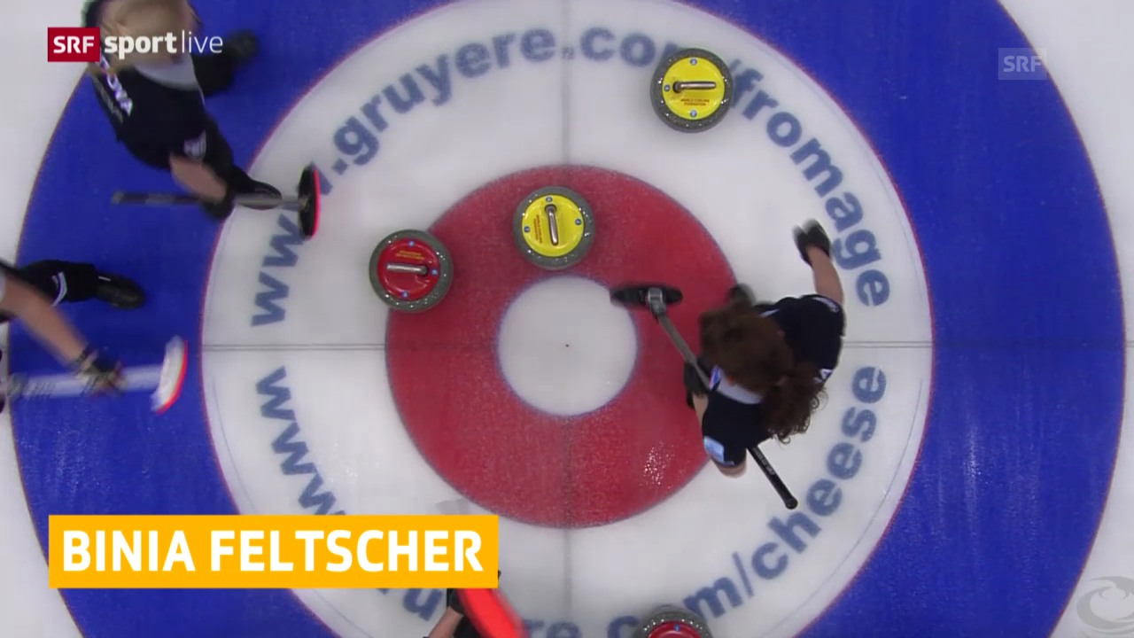 Curling: EM, Schweiz - Russland