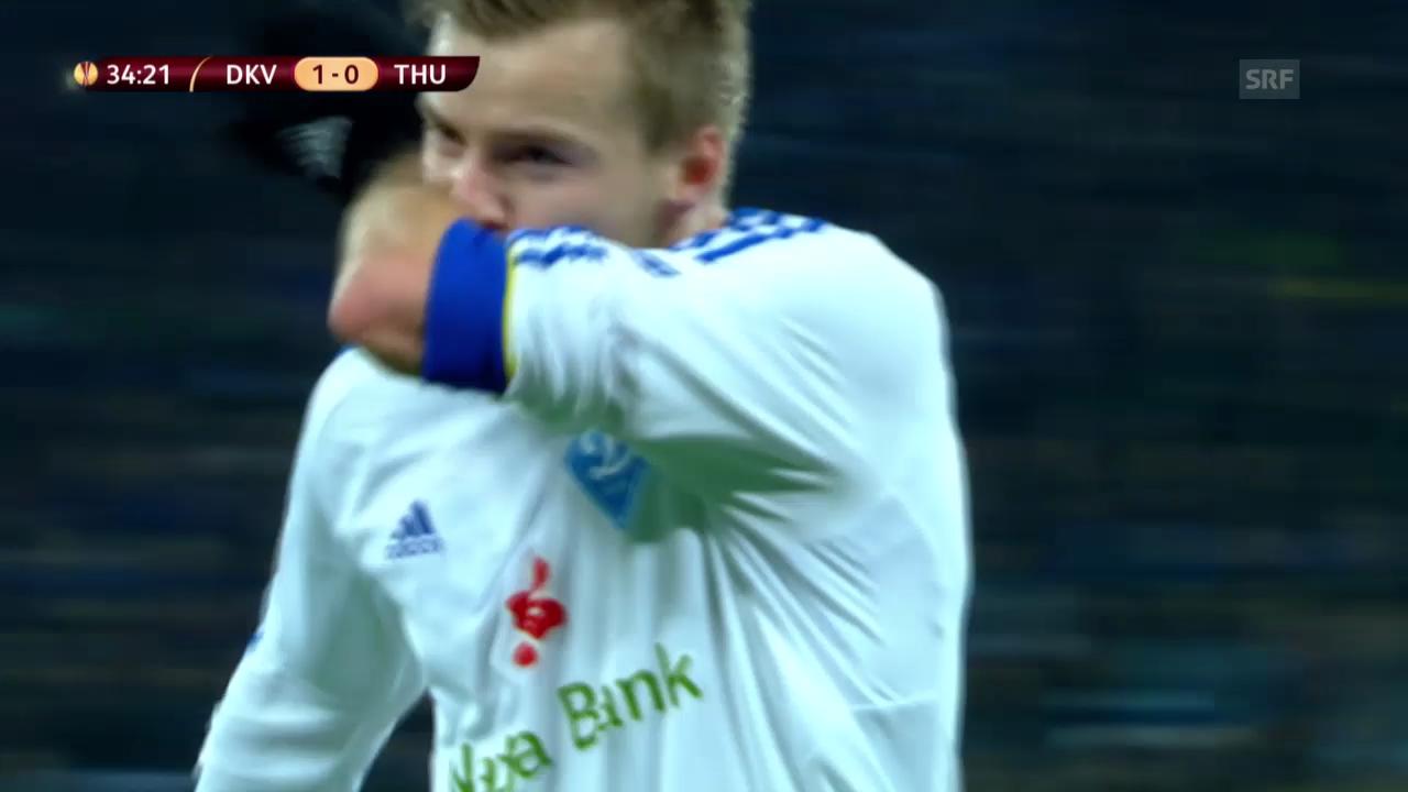 Dynamo Kiew - Thun: Höhepunkte («sportlive»)