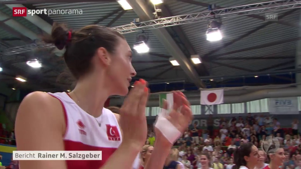 Volleyball: Volley Masters in Montreux, Finals