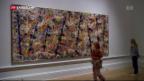 Video «Ausstellung über abstrakten Expressionismus in London» abspielen