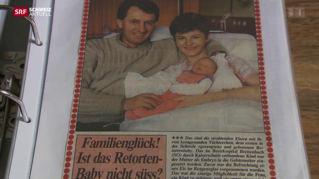 Das erste In-vitro-Baby wird 30
