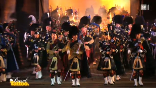 Video «Basel Tattoo 2012» abspielen
