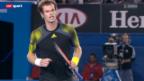 Video «Australian Open: Federer - Murray» abspielen
