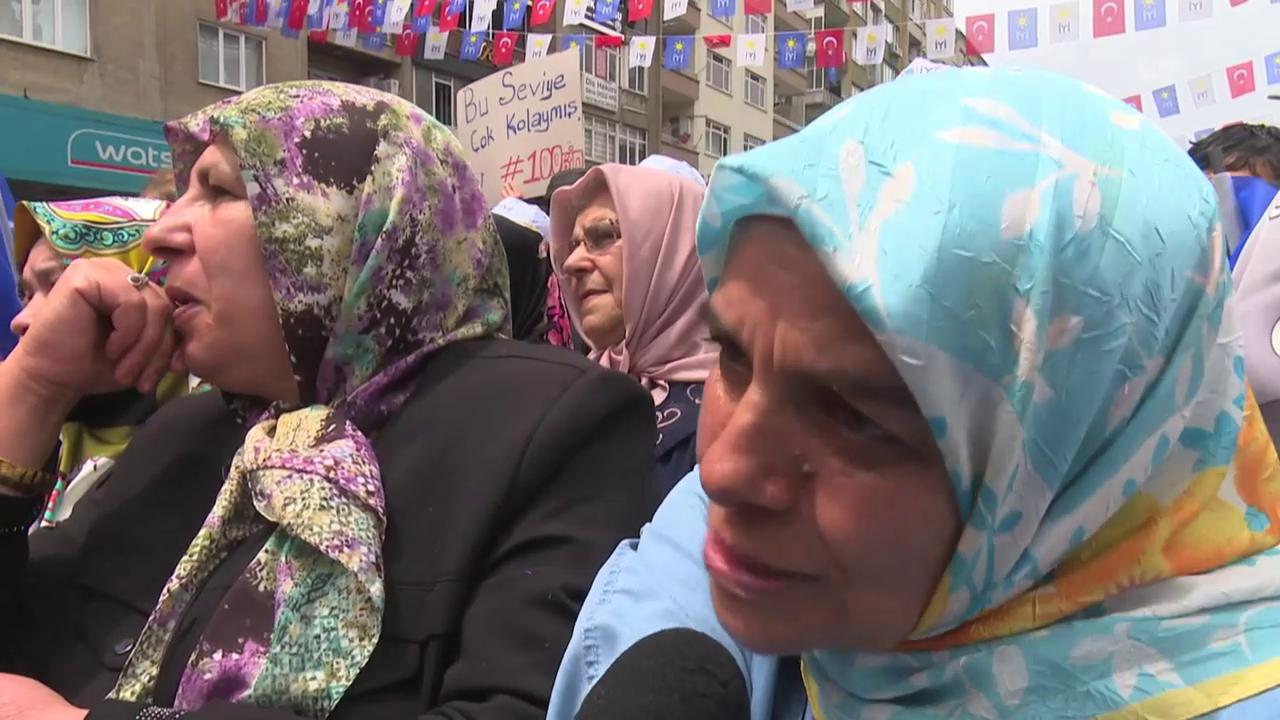 «Wir wollen, dass sie Demokratie und Rechtsstaatlichkeit zurückbringt.»