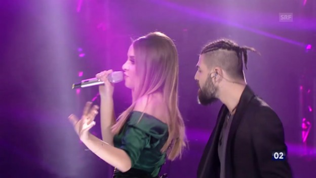 Video «Rumänien - Ilinca ft. Alex Florea mit «Yodel It!»» abspielen