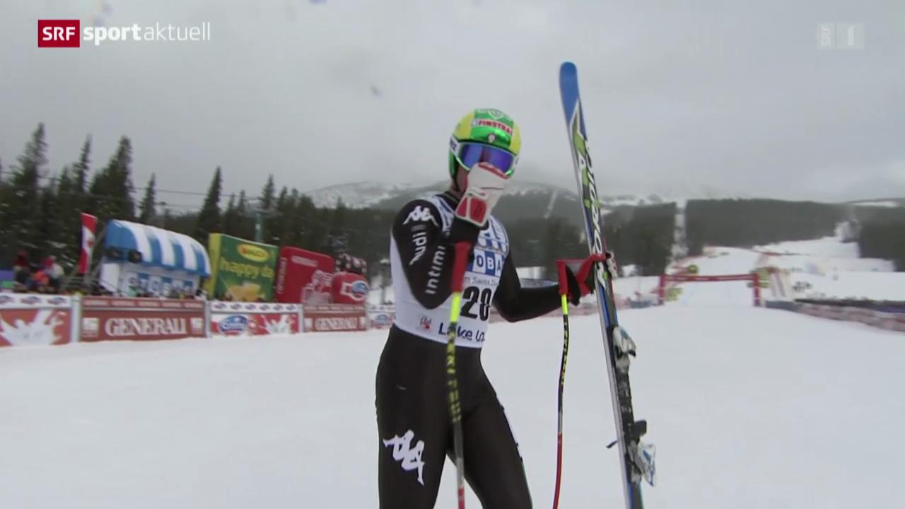 Ski: Abfahrt Männer in Lake Louise