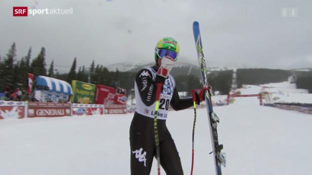 Video «Ski: Abfahrt Männer in Lake Louise» abspielen