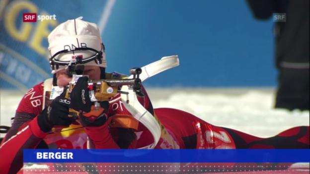Video «3. WM-Gold für Tora Berger» abspielen
