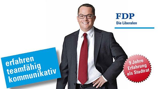 Roger Huber zum Resultat im 1. Wahlgang (Stefan Ulrich, 13.1.2013)