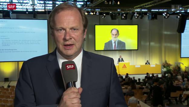 Video «Einschätzung von SRF-Wirtschaftsredaktor Christian Kolbe» abspielen