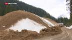 Video «Skigebiete rüsten sich bereits für die nächste Saison» abspielen