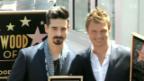 Video «Stern auf dem «Walk of Fame» für die Backstreet Boys» abspielen