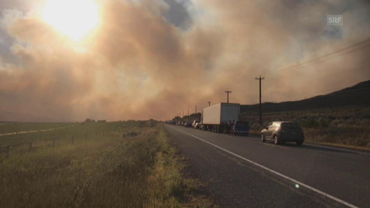 200 Feuer in British Columbia