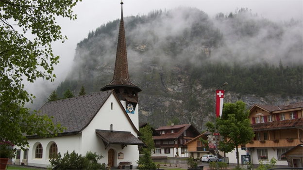 Glockengeläut der reformierten Kirche in Kandersteg