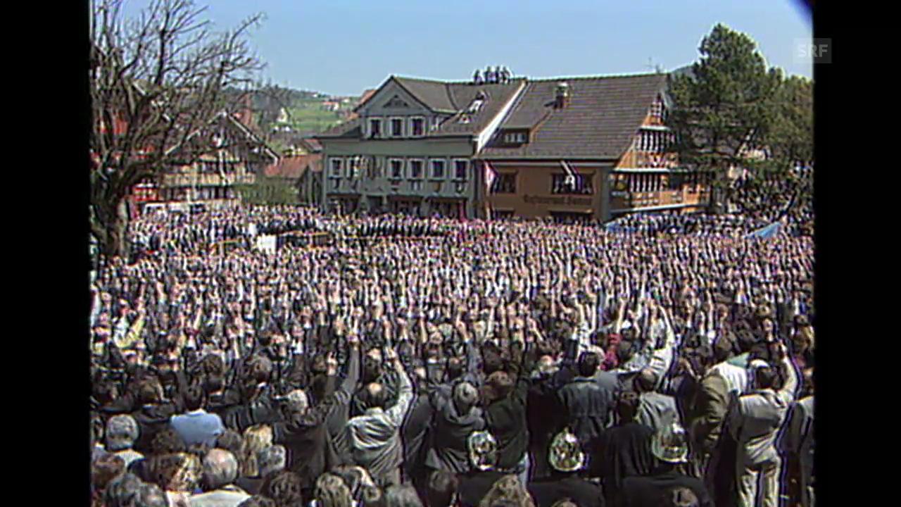 «Die Landsgemeinde stimmt ab», 29.4.1990