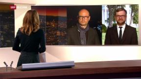 Video «FOKUS: Live-Schaltung zu Pascal Weber und Peter Düggeli» abspielen