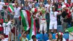 Video «WM: Späte Siegtore von Iran und Uruguay» abspielen