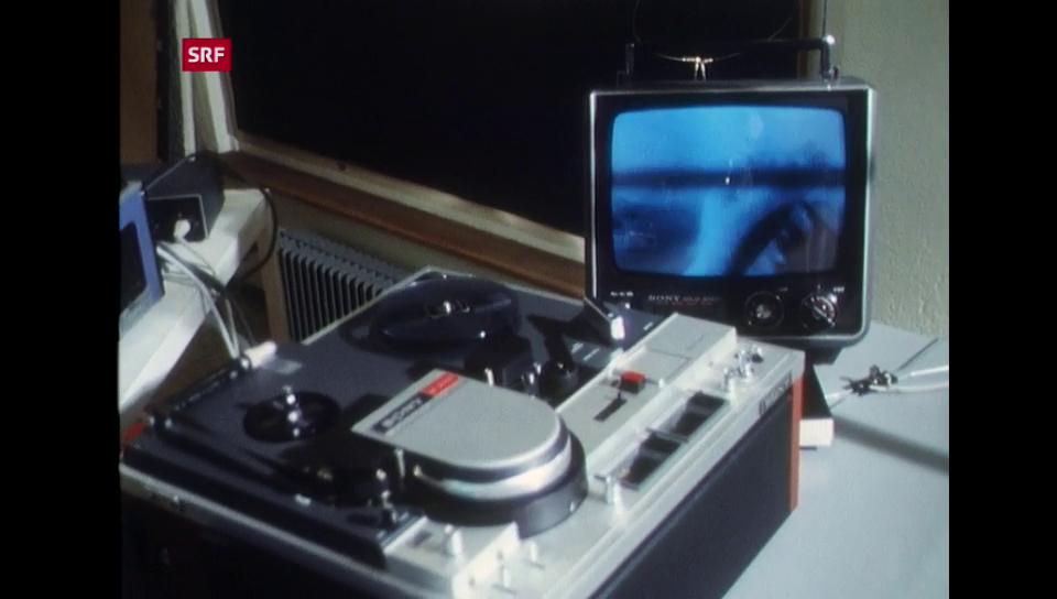 Aus dem Archiv: «Video-Art» 1975