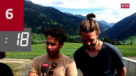 Laschar ir video «Challenge cun Lo&Leduc: 33 duos en 33 secundas»
