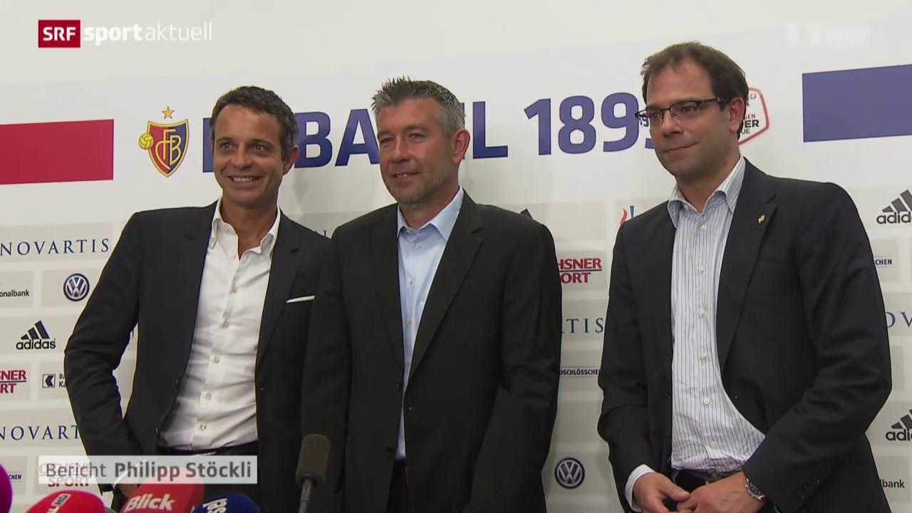 Fussball: Super League, Urs Fischer neuer FCB-Trainer