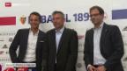Video «Fussball: Super League, Urs Fischer neuer FCB-Trainer» abspielen
