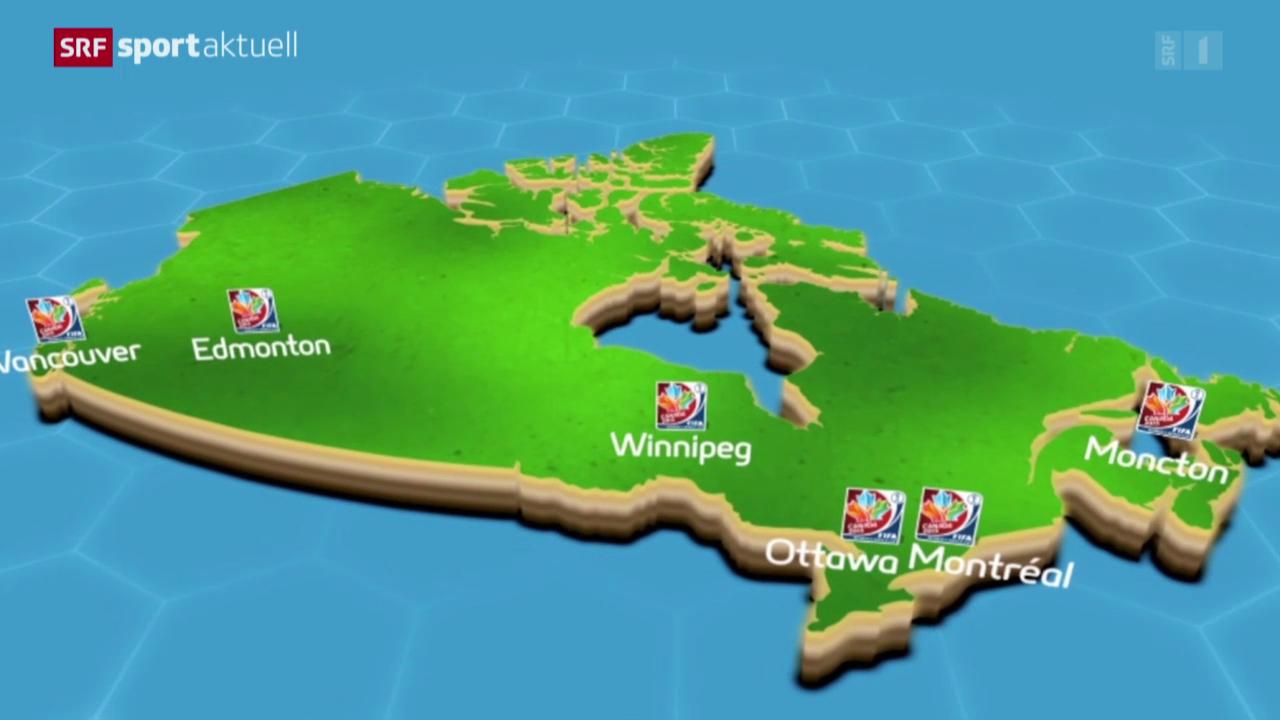 Fussball: Auslosung der Frauen-WM 2015 in Kanada