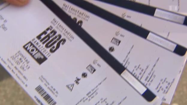 Video «Konzerttickets: Graumarkt-Händler kassieren ab» abspielen
