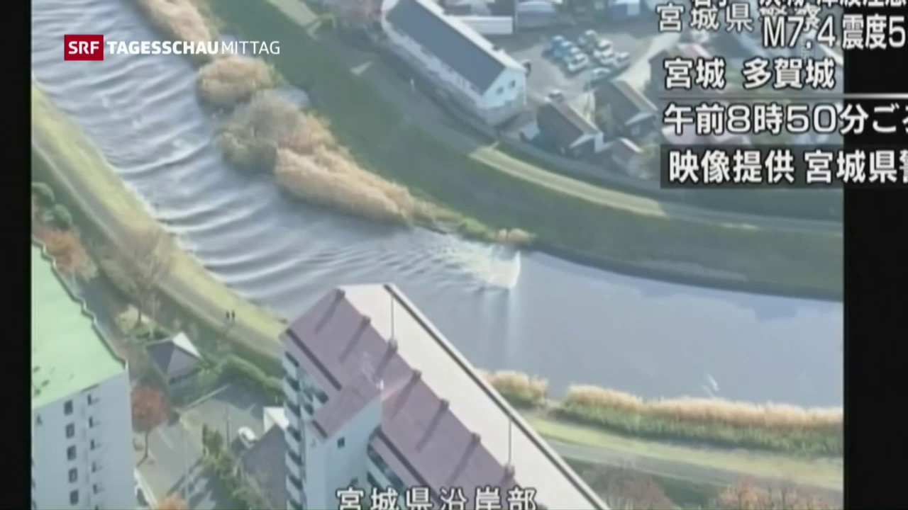 Starkes Nachbeben in Fukushima