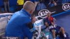 Video «Hewitt legt sich mit dem Schiedsrichter an» abspielen