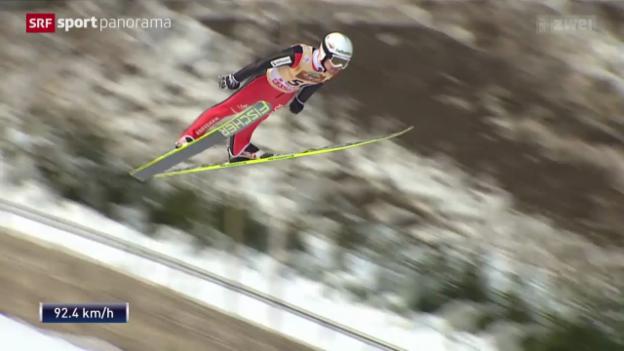 Video «Skifliegen: Weltcup in Willingen» abspielen