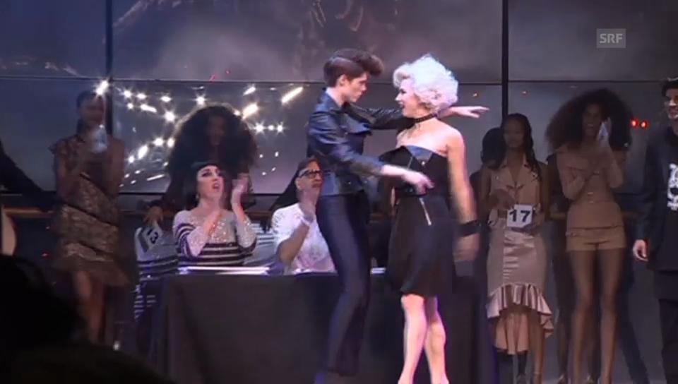 Jean Paul Gaultier lässt die Models tanzen