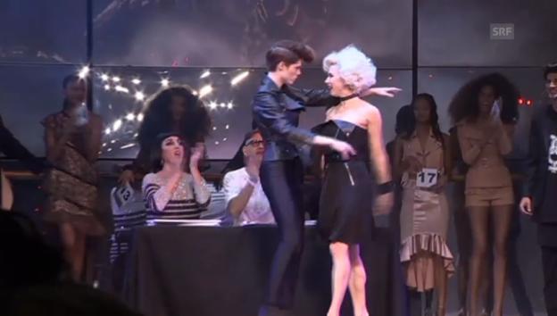 Video «Jean Paul Gaultier lässt die Models tanzen» abspielen