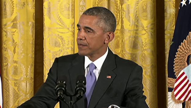 Video «Obama über die Bill-Cosby-Affäre» abspielen