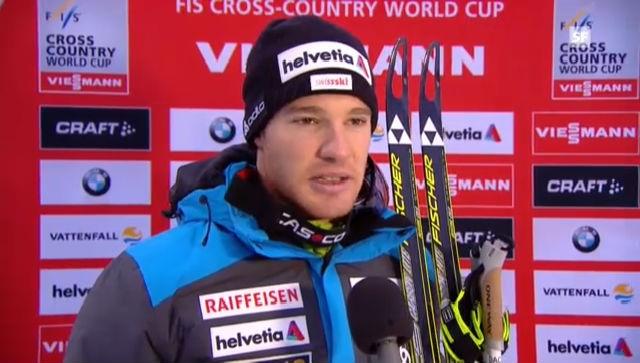 Langlauf-Staffel: Interview Dario Cologna