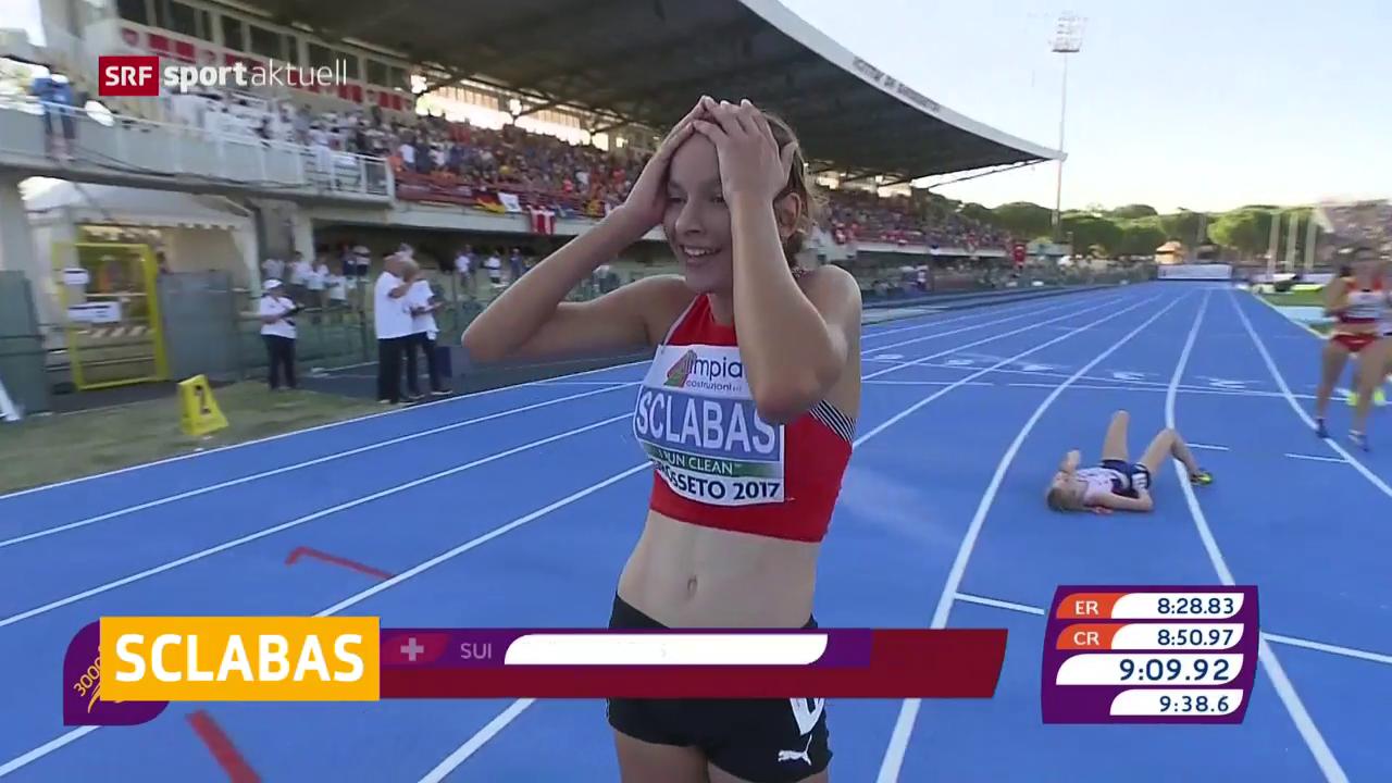 U20-EM: Sclabas holt Gold