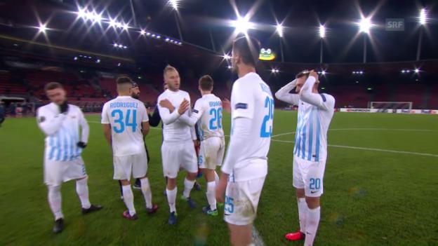 Video «Torloses Remis zwischen FCZ und Steaua» abspielen