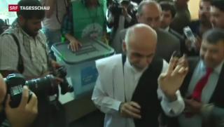 Video «Ghani wahrscheinlich neuer Präsident Afghanistans» abspielen
