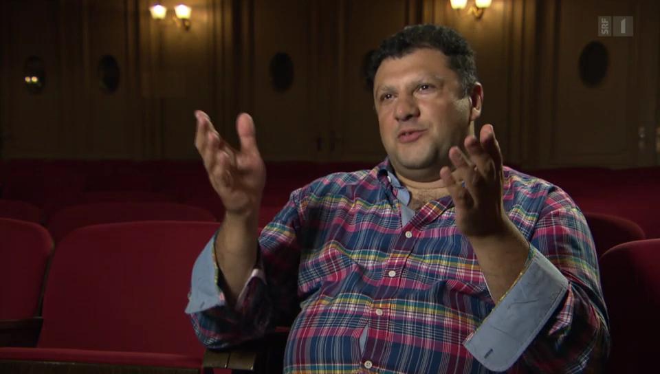 Wahlschweizer: der rumänische Geiger Josef Gazsi