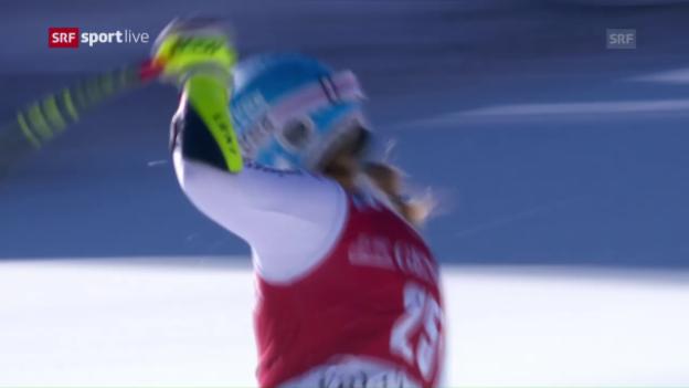 Video «Joana Hählen mit positiver Überraschung» abspielen