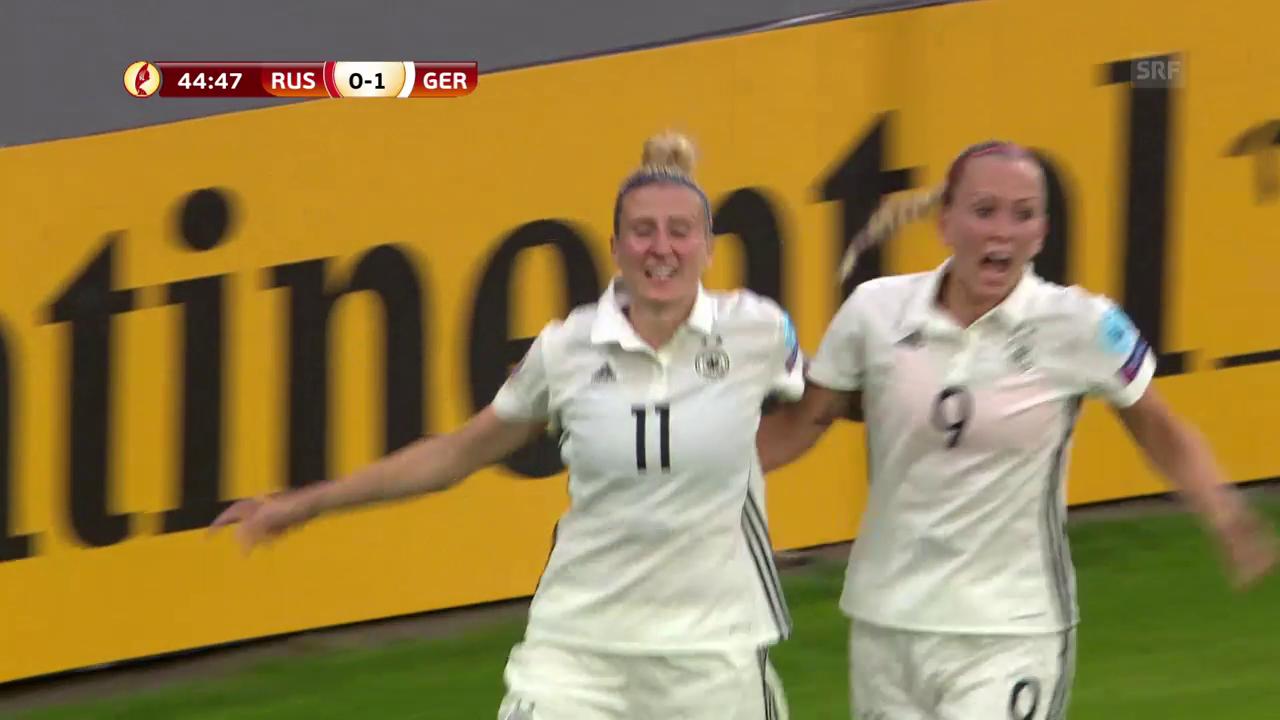 Deutschland gibt sich gegen Russland keine Blösse
