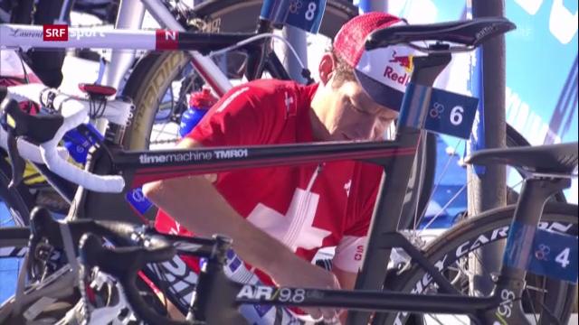 Triathlon: Riederer in Hamburg auf Platz 6 («sportaktuell»)