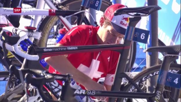 Video «Triathlon: Riederer in Hamburg auf Platz 6 («sportaktuell»)» abspielen