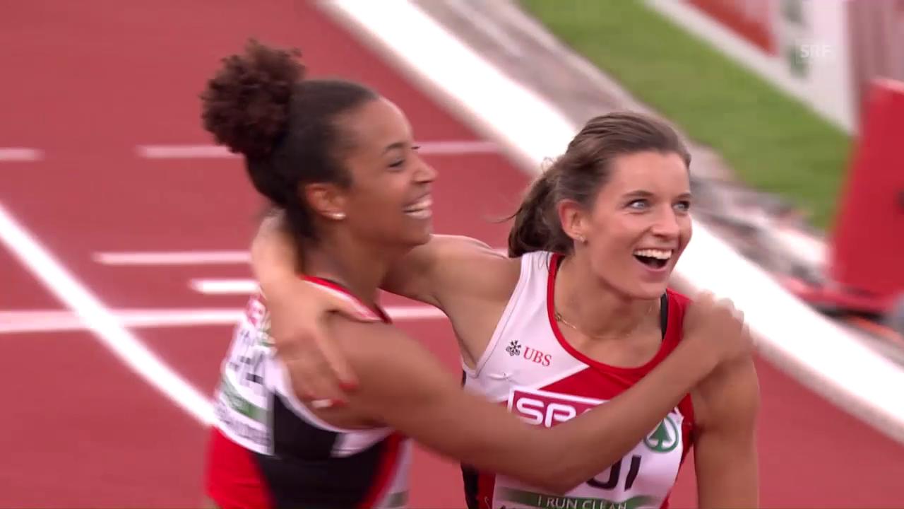 So lief die Frauen-Staffel zum Schweizer Rekord