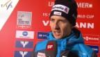 Video «Skispringen: Interview Simon Ammann» abspielen