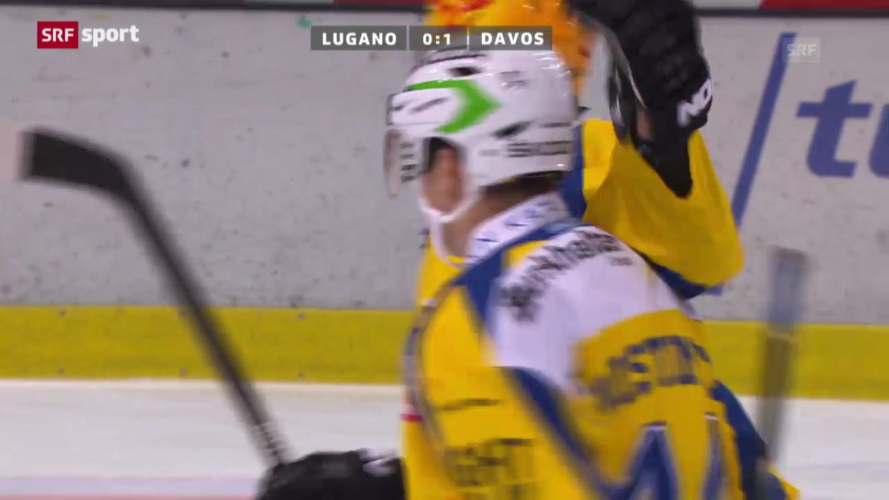 Eishockey: Lugano-Davos («sportaktuell)
