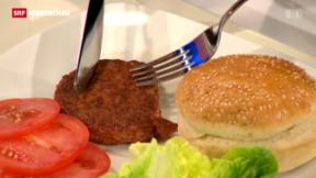 Video « Aus dem Hamburger wird ein Lab-Burger» abspielen