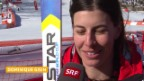 Video «Ski Alpin: Super-G Sotschi, Interview Dominique Gisin (sotschi direkt, 15.02.2014)» abspielen
