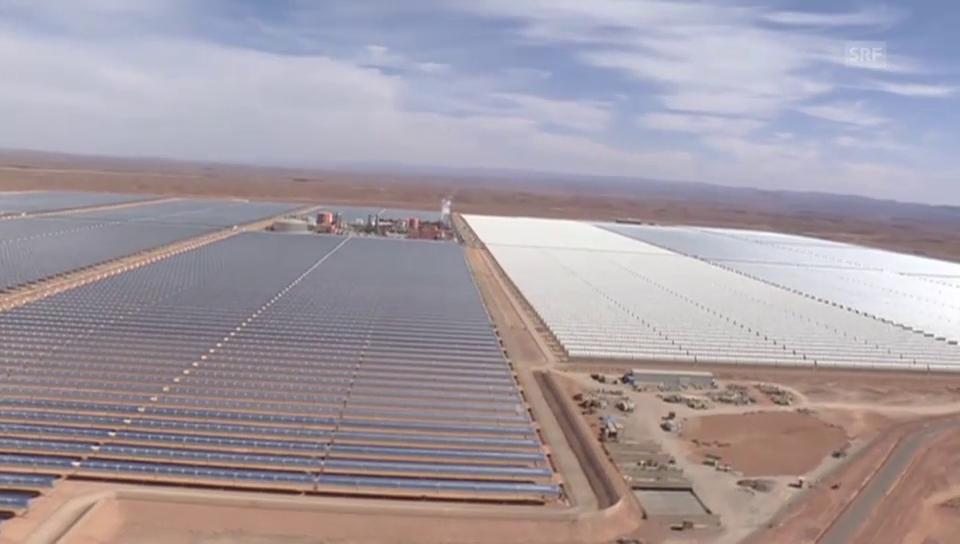 Flug über die grösste Solaranlage der Welt (unkomm.)