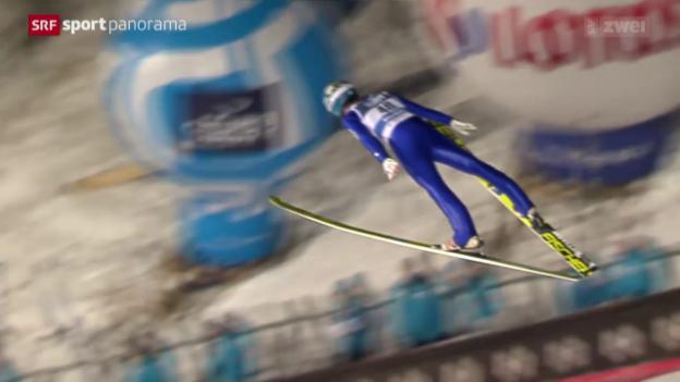 Video «Stefan Kraft siegt in Zakopane» abspielen